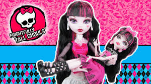 monster frightfully tall draculaura 17 doll review