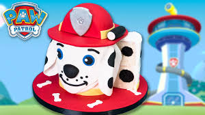 marshall paw patrol cake dalmatian dog cake