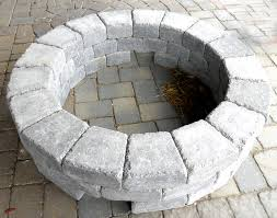 Stone Fire Pit Kit by Fire Pit Kits