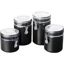 28 kitchen canisters set of 4 ceramic kitchen canisters red