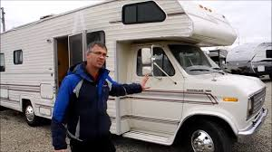1988 real lite rv camper motor home class c youtube