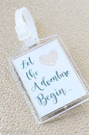 luggage tags wedding favors diy wedding guest gift bags essentials lydi out loud