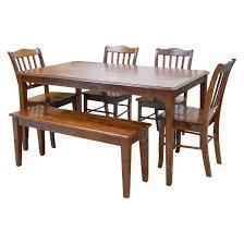 shaker dining table wood brown boraam target