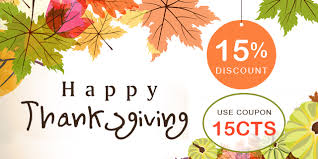 the best thanksgiving day deal by availing 15 discount