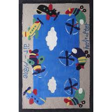 Childrens Area Rug Rug Factory Plus Zoomania Air Plane Blue Children S Area Rug
