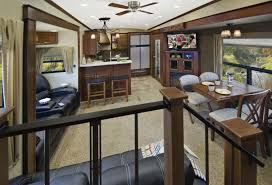 Jayco Eagle Floor Plans by Bunkhouse Fifth Wheel With Outside Kitchen Front Living Room