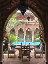 Outdoor Moroccan Furniture by Travels The Most Beautiful Outdoor Pool In Marrakech Morocco