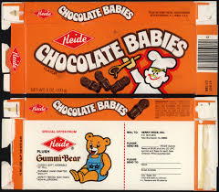 home theater candy display heide u0027s chocolate babies u2013 a look back at a forgotten favorite