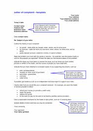 how write a complaint letter gallery letter format examples