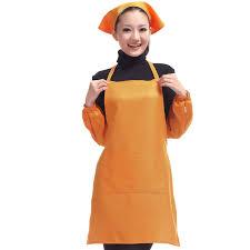 tablier de cuisine pas cher vente chaude femmes de cuisine tablier impression logo customed