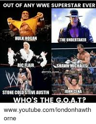 Undertaker Memes - out of any wwe superstar ever hulk hogan the undertaker shawn