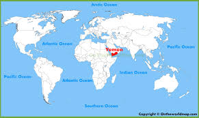 where is yemen on the map yemen location on the map
