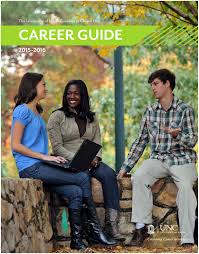 unc ucs career guide 2015 2016 by unc chapel hill university
