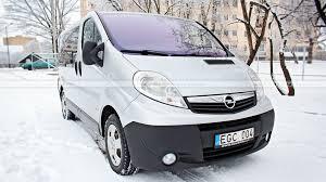 Opel Vivaro Be Vairuotojo 8 1 Vietų šiauliai