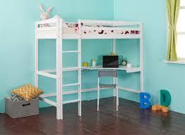 3 Bunk Bed Set Bedroom 3 Way Bunk Bed Wooden Loft Bed With Desk White