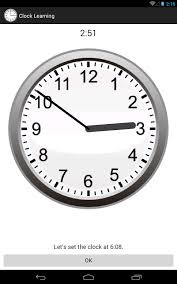 time learning clock clock learning android apps on play
