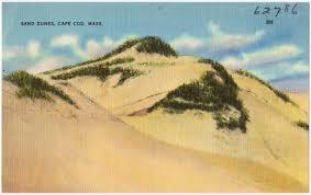 sand dunes cape cod mass digital commonwealth