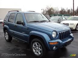 2004 jeep liberty limited 4x4 in atlantic blue pearl 104110