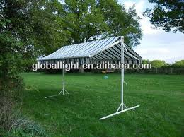 Wind Out Awning Double Sided Stand Alone Wind Out Awning Sunshade Butterfly Canopy