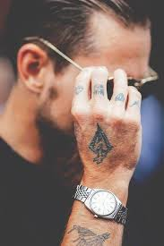 58 best finger tattoos for men images on pinterest tattoos for