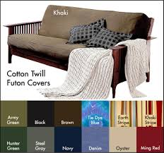 Full Futon Mattress Cover Decorating Adorable Futon Cover For Home Furniture Ideas