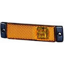 led side marker lights hella 8645 series led amber side marker l rally lights