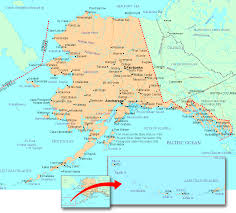 Where Is Alaska On A Map by Map Of Alaska You Can See A Map Of Many Places On The List On