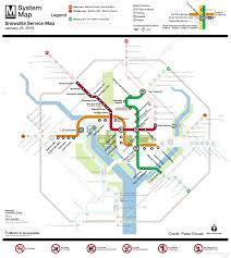 Metrorail Map Washington Dc Metrorail Snow Service Monday 25th Transit Maps