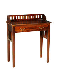 buy fabindia brown mango acacia writing table online fabindia com