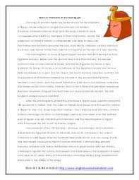 ancient egypt reading comprehension worksheets
