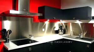 tole inox pour cuisine inox autocollant pour cuisine decoration murale cuisine