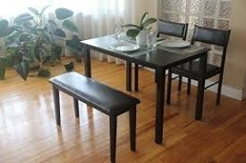 2 Dining Room Chairs Dining Table With Chairs And Bench Foter