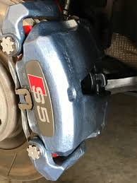 painting brake caliper need color suggestion for daytona gray a5