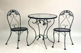 ice cream parlor table and chairs set wrought iron table and chairs wrought iron lounge sets wrought iron