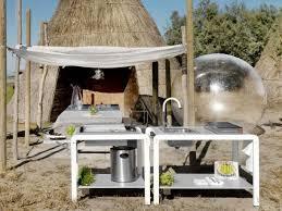 cuisine d ext駻ieure des cuisines d été sur mesure pour votre jardin