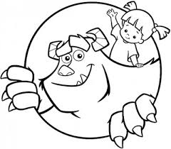 monsters color pages monsters coloring pages print