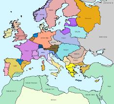 Bohemia Map Europe1300