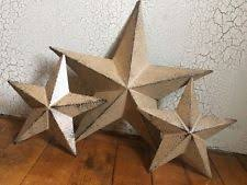 star u0026 berry canisters set of 3 country rustic primitive kitchen