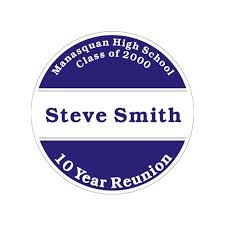 name tags for class reunions cheap alumni reunion name tag sticker template 3 family