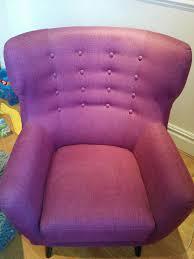 Plum Armchair Kubrick Wing Back Chair Plum Purple 1 Seater Sofa Armchair From