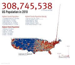 Population Density Map Us Under The Raedar United States Census 2010