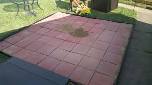 Simple Brick Patio With Circle Paver Kit Patio Designs And Ideas by 4 Easy Ways To Install Patio Pavers With Pictures