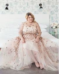 plus size bridal gowns 10 plus size brides who said no to the traditional dress