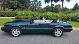 7 up edition mustang 1990 7up edition mustang convertible 5 0 for sale photos