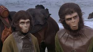 the make up and production design of planet of the apes tested