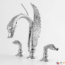 sigma swan roman tub faucet with bathroom sink in bird and dug