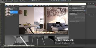 Vray Interior Rendering Tutorial V Ray 3 4 For 3ds Max Reduce Noise And Render Time With Denoiser