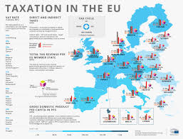 Eu Map Taxation In The Eu Maps That Educate Pinterest Europe Eu
