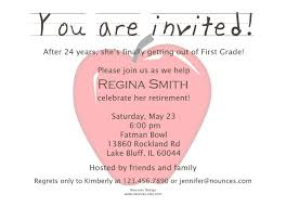 retirement party invitation wording dancemomsinfo com