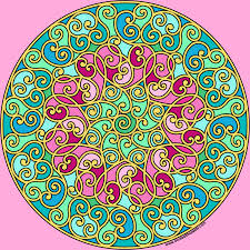 don u0027t eat the paste hidden heart mandala to color